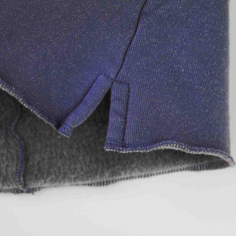 Minifalda de niña azul gris. Minifalda de felpa niña talla 4 a la 14 años.