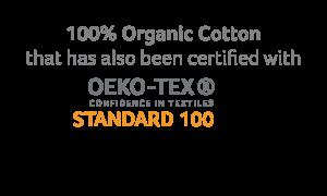 ropa infantil de algodón orgánico certificado